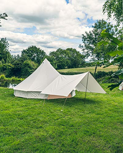 Canvas Bell tent Awning 4M x 2.6M