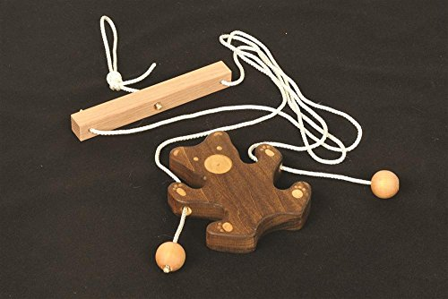 Toys From Times Past Wooden Climbing Bear
