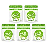 PUR 100% Xylitol Breath Mints, Mojito Lime Mint, 20 Count (Pack of 5) Sugar-Free + Aspartame Free,...
