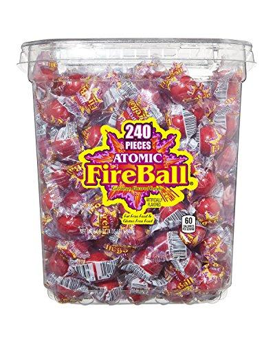 Atomic Fireballs Candy, 4.05 Pound Bulk Bag