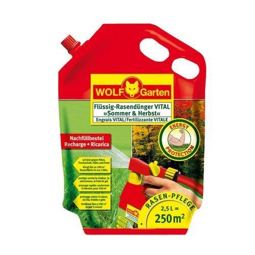 WOLF-Garten Flüssig-Rasendünger VITAL »Sommer & Herbst« LV 250 R; 3848030