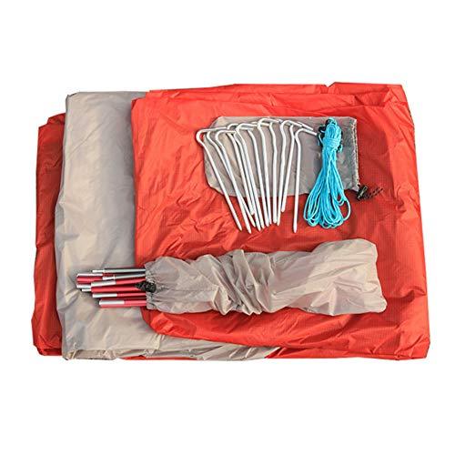 N / A Carpa instantánea para Acampar al Aire Libre, Plegable portátil, Resistente a los Rayos UV, Impermeable, Fuerte y Estable, Adecuada para Acampar y Caminar en la Playa