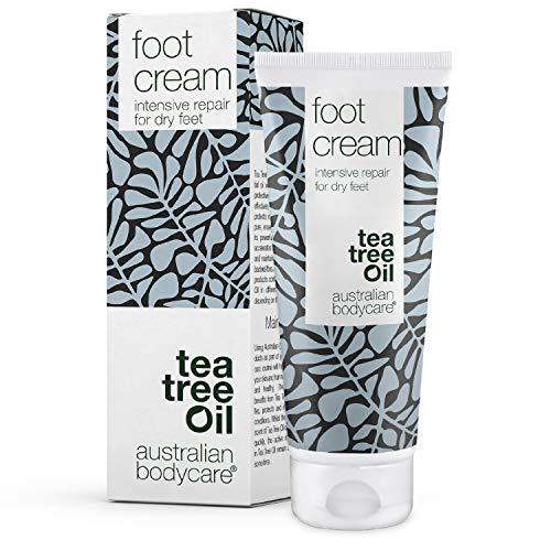 Australian Bodycare Foot Cream 100ml | Fußcreme für Frauen & Männer bei Hornhaut und Fußschweiß | Urea Hornhautcreme | Fußbalsam bei Schrunden | mit australischem Teebaumöl