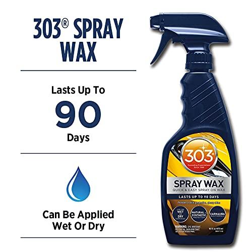 303 Spray Wax - Quick And Easy Spray On Wax