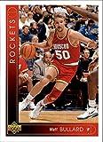1993-94 Upper Deck #276 Matt Bullard Houston Rockets NBA Basketball Card NM-MT