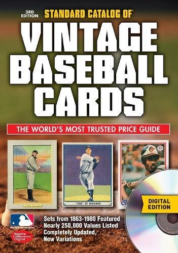 Standard Catalog of Vintage Baseball Cards CD