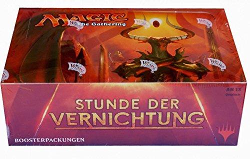 Magic The Gathering MTG-Hou-BD-DE Stunde der Vernichtung Booster Display Kartenspiel, 36 Packung