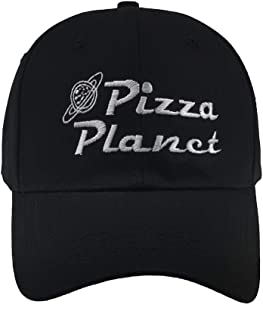 Chensheng Pizza Planet Hat Baseball Cap Embroidery Dad Hat Aadjustable Cotton Adult Sports Hat Unisex
