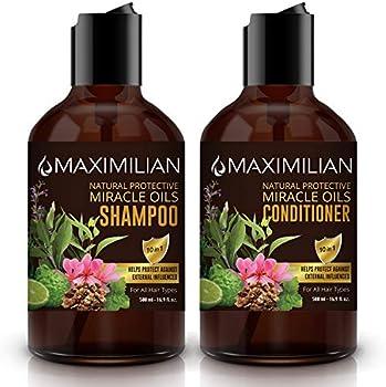 Maximilian All Natural Shampoo and Conditioner Set