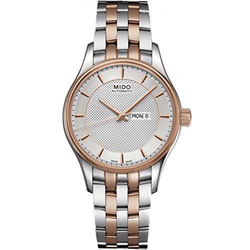 Mido Damen-Armbanduhr XS Belluna Analog Automatik Edelstahl M0012302203191