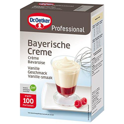 Dr. Oetker Professional Bayerische crème, dessertcrème, dessertpoeder in 1 kg verpakking