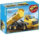 PLAYMOBIL City Action - La vida en la obra - Camión Contenedor - 5468