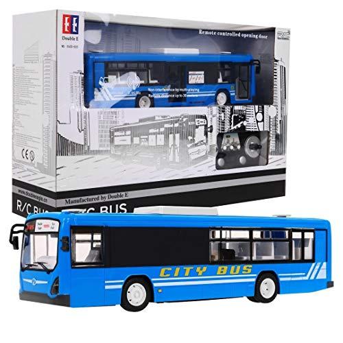 Ferngesteuertes Auto, RC Auto - Fergnesteuertes Bus, Autobus, Stadtbus - 1:20 - 2.4GHz - Blau