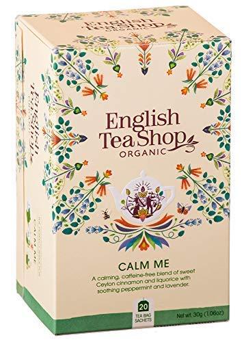English Tea Shop Tisana Calmante Biologica con Menta, Liquiriza e Lavanda Made in Sri Lanka - 1 x 20 Bustine di Tè (30 Grammi)