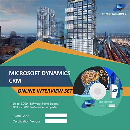 MICROSOFT DYNAMICS CRMComplete Unique Collection All Latest Inteview Questions & Answers Video Learning Set (DVD)
