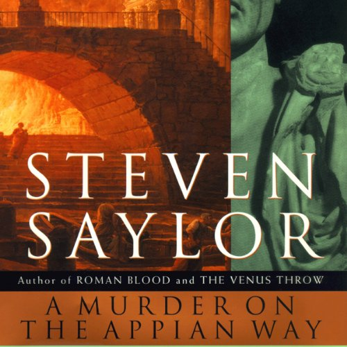 A Murder on the Appian Way audiobook cover art