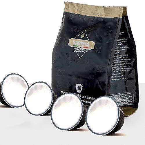Barista Italiano 50 Dolce Gusto Kompatible Kapseln (MILCH, 50 Kapseln, 50 Tassen)