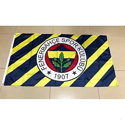Wgd 90x150cm Türkei Fenerbahce Fahnen, 3ftx5ft Flag Banner Geschenke for Politische Parteien, Festivals, Historische Ereignisse Dekorationen (Size : 60 x 90 cm)