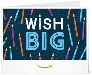 Amazon.com.au Gift Card - Print - Birthday Wish Big
