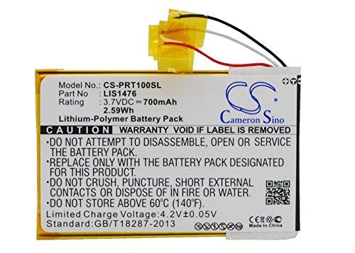 CS 700mAh Li-Polymer Akku Passend für Sony PRS-T1 PRS-T2 PRS-T3 PRS-T3S PRS-T3E, ersetzt Sony 1-853-104-11 LIS1476MHPPC(SY6)