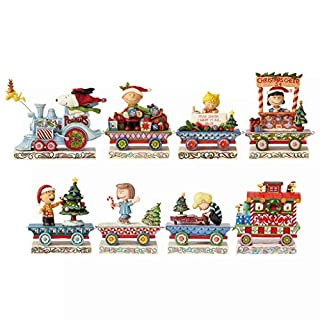 Enesco Jim Shore Peanuts Holiday Train Eight Car Gift Figurine Set, 4.75 Inch, Multicolor (B083SJPC95) | Amazon price tracker / tracking, Amazon price history charts, Amazon price watches, Amazon price drop alerts