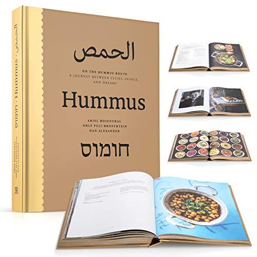 Kulinarisches Buch On The Hummus Route, Prestigious Album, Bedruckt für Küchenliebhaber und Reisen