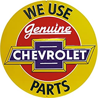 Ande Rooney Chevrolet Genuine Parts Tin Sign 2030091