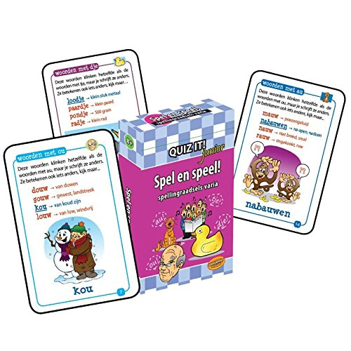 Quiz it junior Spel en speel!: spellingraadsels varia