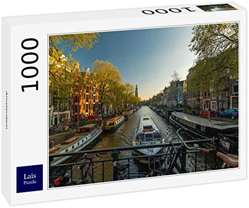 Lais Puzzle Amsterdam 1000 Pezzi