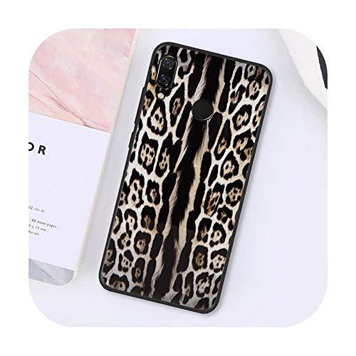 Phone cover Moda tigre leopardo impresión panther teléfono caso para Xiaomi para Redmi8 4X 6A S2 Go para Redmi 5 5Plus Note8 Note5 7 Note8Pro-A3-Para Redmi 8
