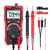 LiNKFOR Digital Multimeter 6000 Counts True RMS Auto Ranging NCV Multimeters with Alligator Clips Support Voltmeter AC/DC Voltage Current Resistance Capacitance Etc