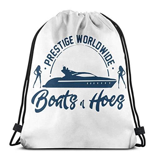 Mochila con Cordón,Bolsas De Cuerdas Gimnasio,Boats N Hoes