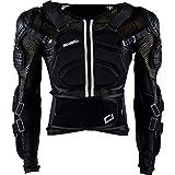 O'NEAL | Protektoren-Jacke | Motocross Enduro ATV | Verstellbare Stretchbänder, Hochschlagfestes IPX®-Material, Mesh-Paneele zur Kühlung | Underdog Protector Jacke | Erwachsene | Schwarz | Größe M