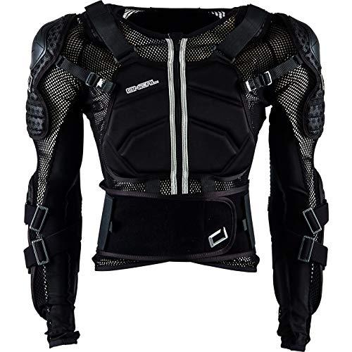 O\'NEAL | Protektoren-Jacke | Kinder | Motocross Enduro | Verstellbare Stretchbänder, Hochschlagfestes IPX®-Material, Mesh-Paneele zur Kühlung | Underdog Protector Jacke Youth | Schwarz | Größe S