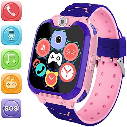 HuaWise Kids Smartwatch SD Card Included Waterproof Smartwatch for Kids with Quick Dial SOS product image