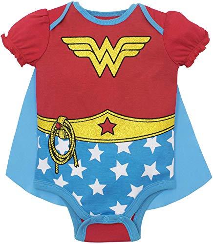 Baby Girls' Bodysuit and Cape - Wonder Woman