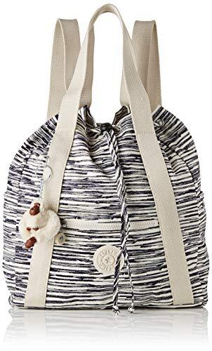 Kipling Art Backpack S, Women's Backpack, Multicolour (Scribble Lines)