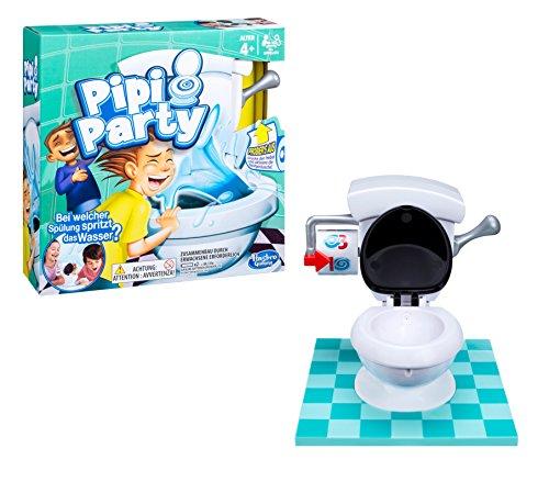 Hasbro PIPI Party, das lustige Kinderspiel mit der Toilette, ab 4 Jahren