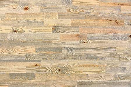 wodewa Paneles de Madera Para Pared Estilo Vintage Rústico I 1m² Revestimiento de Paredes Panel Decorativo Madera Interior Sala de Estar Cocina Dormitorio Mural Retro Shabby Chic V001