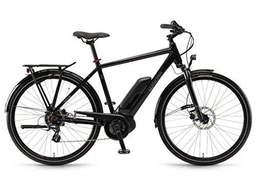 Winora E-Bike Sinus Tria 7eco Uomo Active 400Wh 28'' 7v Nero Taglia 60 2018 (City Bike Elettriche) / E-Bike Sinus Tria 7eco Man Active 400Wh 28'' 7s Black Size 60 2018 (Electric City Bike)