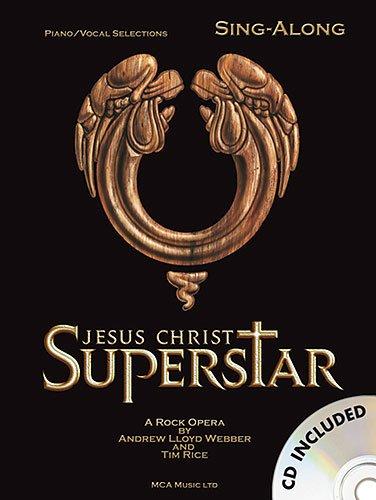 Jesus Christ Superstar Sing Along Vocal Selections Songbook (+CD) mit Bleistift Songs aus dem erfolgreichen Musical von Andrew Lloyd Webber für Gesang, Klavier und Gitarre