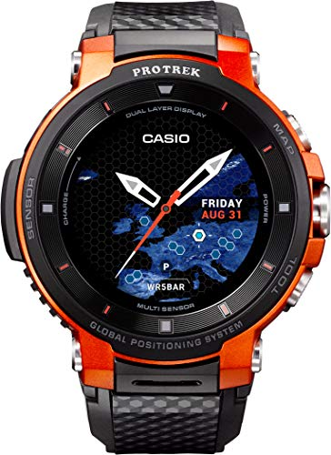 Casio Herren Analog – Digital Quarz Uhr mit Resin Armband WSD-F30-RGBAE