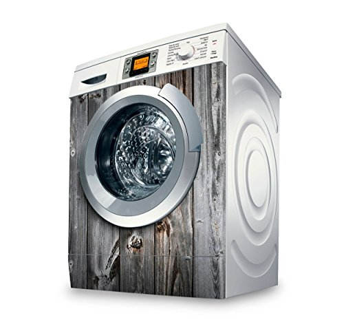 setecientosgramos Vinilo Lavadora | Stickers Washing Machine| Pegatina Lavadora | Wood