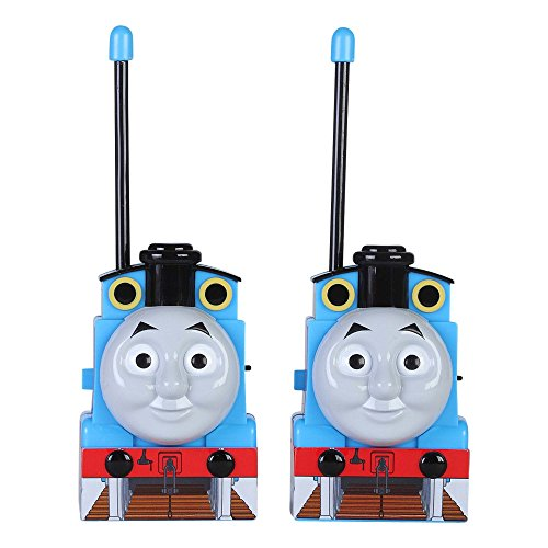 Walkie Talkie 12085 Thomas and Friends for Kids Flexible Saftey Antenna and Morse Code with On/Off Switch, HIGH, Stylish Appearance, Lovely and Fashion, 2 Pieces, Blue
