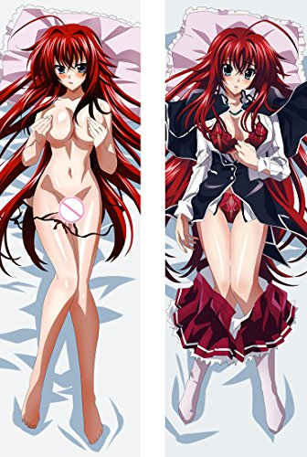 Rias Gremory - Highschool DxD 2 Way Tricot 150 x 50cm(59in x 19.6in) Pillowcase
