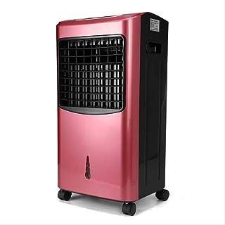 70W Temporizador de Aire Acondicionado Acondicionador Humidificador Purificador Calefacción Sistema de refrigeración Ventilador del hogar Ventilador con Control Remoto Federación de Rusia Rose Red