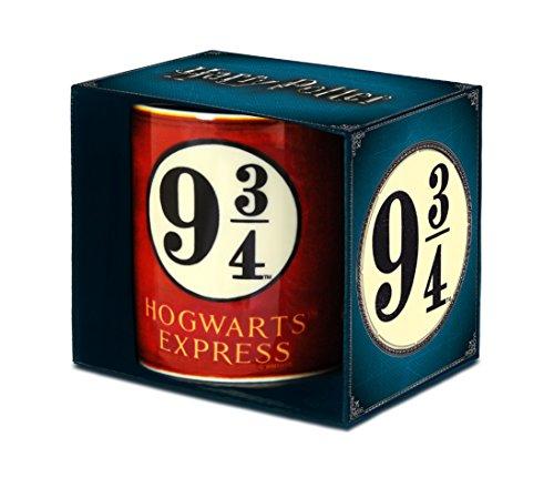 Harry Potter Tasse, Porzellan, Rot, 8 x 8 x 9.5 cm