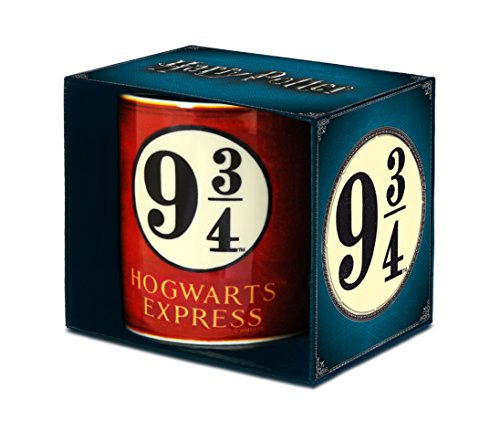Harry Potter Mok, porselein, rood, 8 x 8 x 9,5 cm