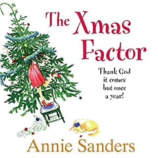 The Xmas Factor audiobook cover art
