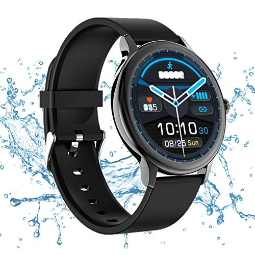 Smart Watch für Männer Frauen - Smartwatch für Kinder Fitness Tracker mit Blutsauerstoff, Blutdruck, Herzfrequenzmesser wasserdichte IP68 Sportuhr für iPhone Android Phone